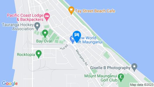 Blue Haven Motel Map