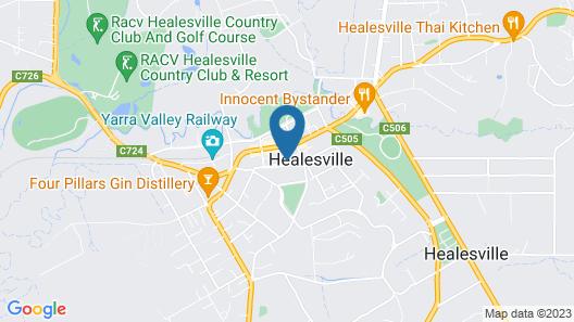 Furmston House & Studio Map