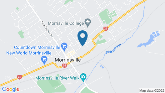 Central Motor Lodge Map