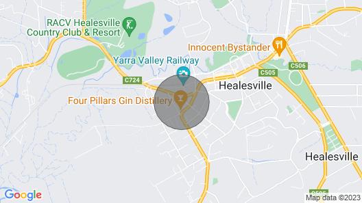 Terminus Hotel Healesville Map