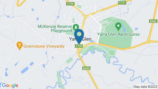 Yarra Valley Grand Hotel Map