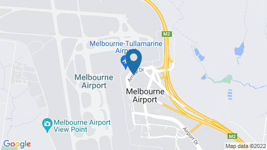 PARKROYAL Melbourne Airport Map