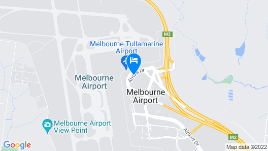 PARKROYAL Melbourne Airport Map