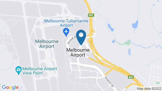 Holiday Inn Melbourne Airport Map