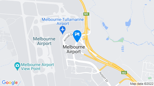 Holiday Inn Melbourne Airport, an IHG Hotel Map