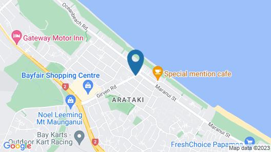 Bay Palm Motel Map