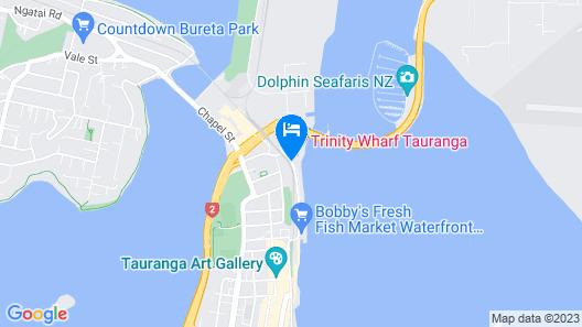 Trinity Wharf Tauranga Map