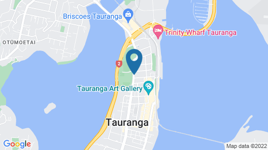 City Suites Tauranga Map
