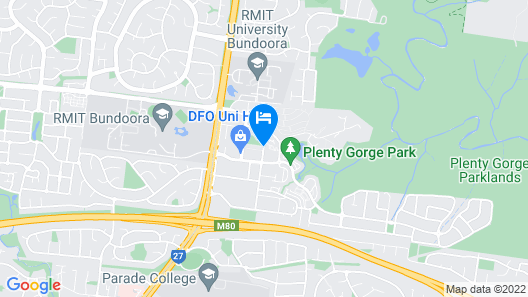 Quest Bundoora Map