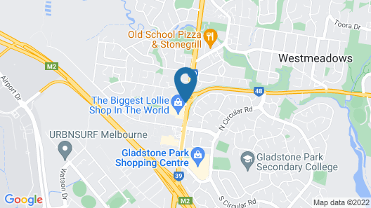 Quality Hotel Melbourne Airport Map