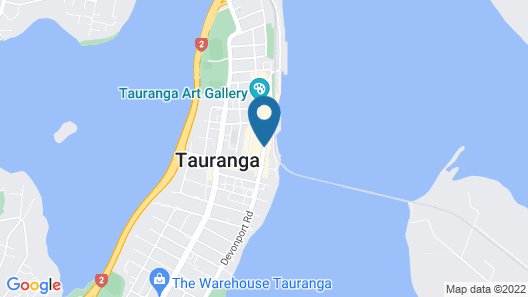 Hotel on Devonport Map