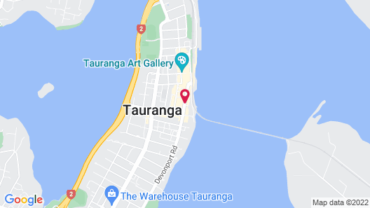 Quest Tauranga Central Map