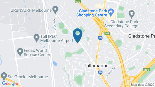 Mantra Tullamarine Map