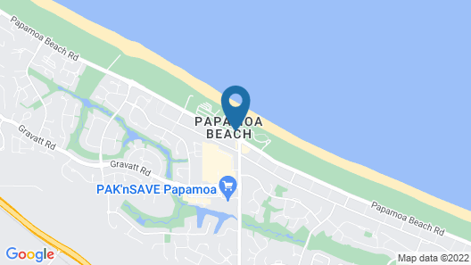 Papamoa Beach Resort Map