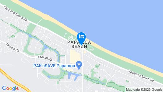Papamoa Beach Resort Map