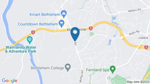 Bethlehem Motor Inn Map