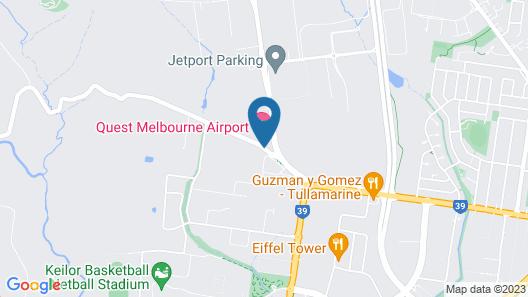 Quest Melbourne Airport Map