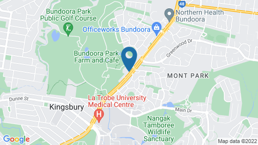 Parc Hotel Bundoora Map