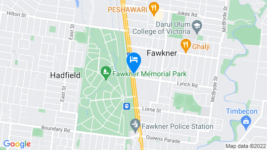 Best Western Fawkner Suites & Serviced Apartments Map