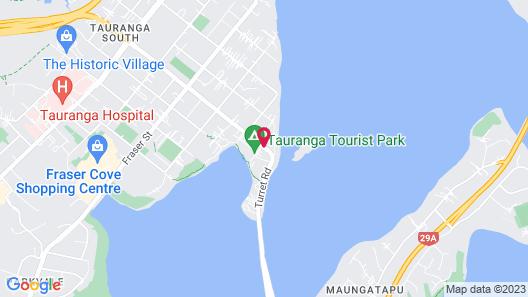 Ambassador Motor Inn Tauranga Map