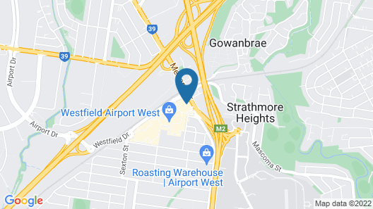 Nightcap at Skyways Hotel Map