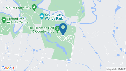 Yarra Valley Lodge Map