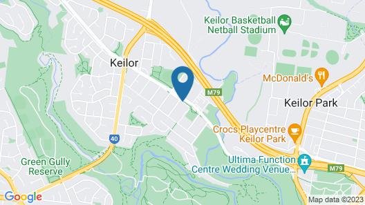 Keilor Motor Inn Map