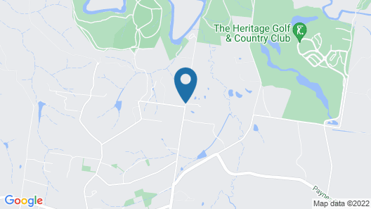 Australian Home Away @ Wonga Park Brushy Creek Map