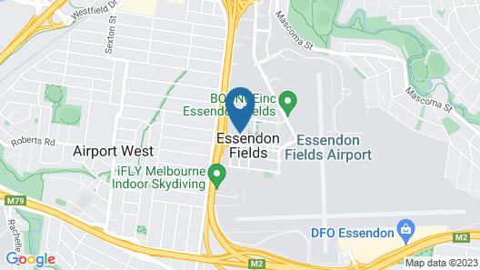 Hyatt Place Melbourne, Essendon Fields Map
