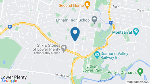 Eltham Retreat Map