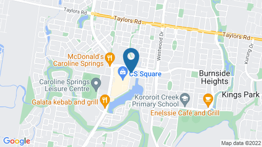 Mercure Melbourne Caroline Springs Map