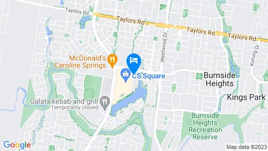 Mercure Melbourne Caroline Springs Map