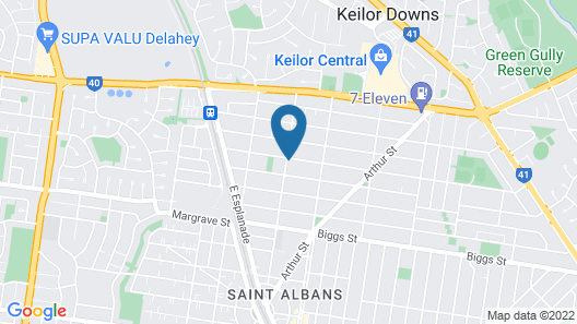 St Albans In Map