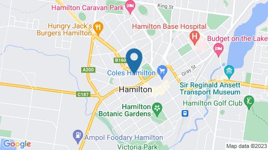 AAt 28 Goldsmith Motel Map
