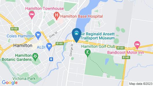 Hamilton Lakeside Motel Map