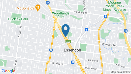 Essendon Apartments Map