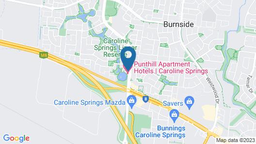 Punthill Caroline Springs Map
