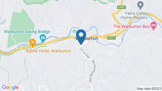 Warburton Lodge Map