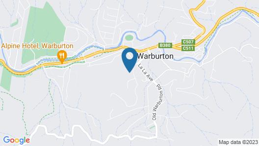 Buttercuphill B&B Map