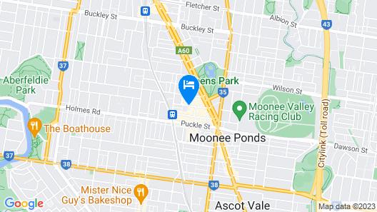 The Sebel Melbourne Moonee Ponds Map