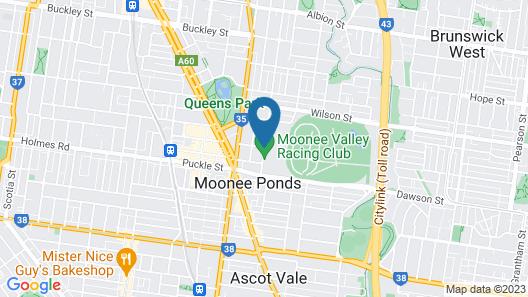 Quest Moonee Valley Map