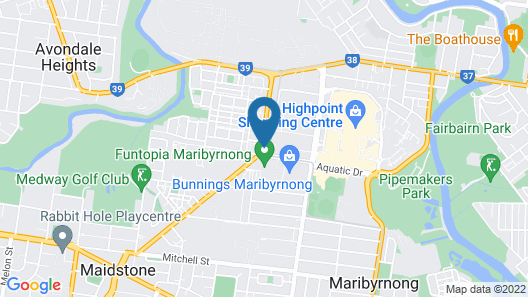Quest Maribyrnong Map