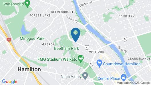 Beetham Park Motel Map