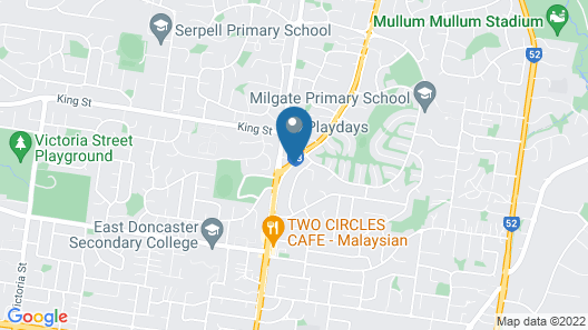 Australian Home Away @ Doncaster Andersons Creek 2 Map