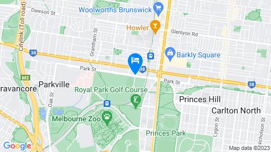 Parkville Motel Map