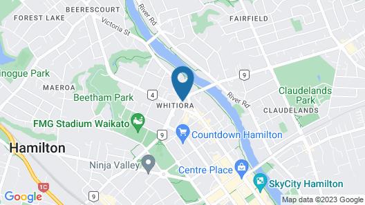 Heartland Ambassador Hotel Hamilton Map