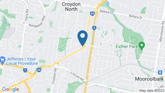 Victoria House Motor Inn Map