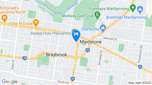 Discovery Parks – Melbourne Map