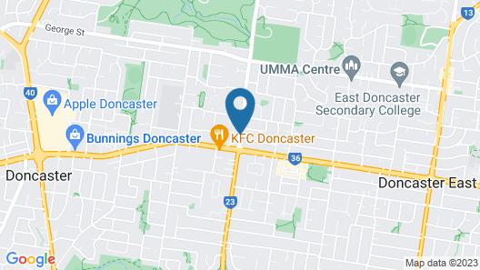 Quest Doncaster Map