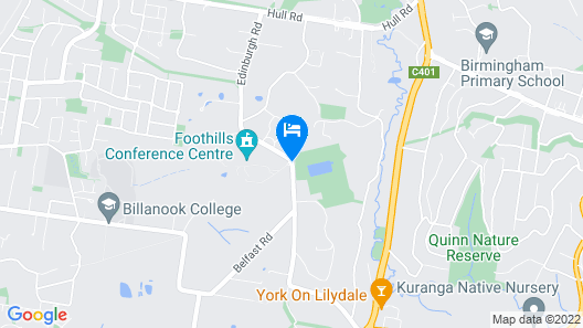 Foothills Conference Centre Map